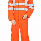 Fire Retardant AS Orange COVERALL