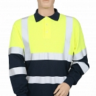 FR, AS 2 Tone Polo With Hi-Vis Tape