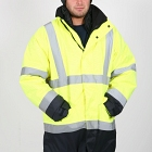 FR AS Hi-Vis Wet Weather JACKET