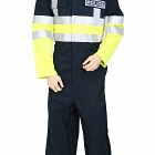 Fire Retardant AS 2-Tone COVERALL