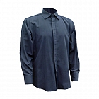 -------FRA232------- Flame Resistant & Antistatic Navy Formal Shirt