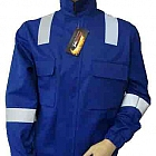 Fire Retardant AS Blue Drivers JACKET