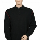 FR, Antistatic, Long Sleved Black Polo