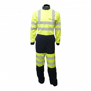- FRA220HVN(L)V2ARC - Flame Resistant, AS, Hi-Vis & Arc Coverall