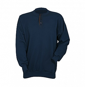 --FRA205(A)BP-- Flame Resistant & Antistatic Button Sweatshirt