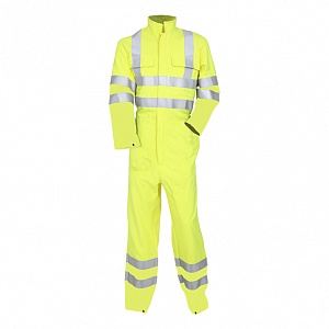 - -  FRA220HVARC2 - -  Flame Resistant, AS, Hi-Vis & Arc CL2 Coverall