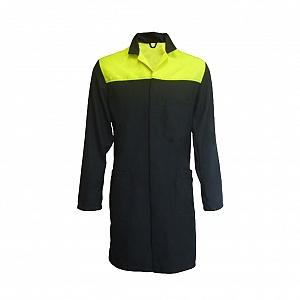 -----FRA237-----  Flame Resistant & Antistatic 2 Tone Lab Coat