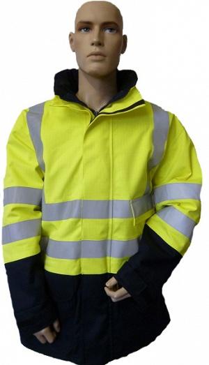 FR AS Electric Arc Hi-Vis Yellow JACKET