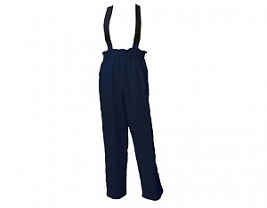 ---FRA224ARC2---  Flame Resistant, AS, ARC C2 Wet Weather Dungarees