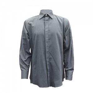 ----FRA232ARC---- Flame Resistant, AS & Arc Grey Formal Shirt