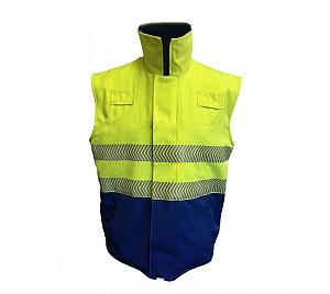 --FRA235HVARC--  Flame Resistant, AS, ARC, Hi-Vis Body warmer