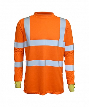 ------F200HVO(T) ------ High Visibility T-Shirt With Cut Safe Sleeves