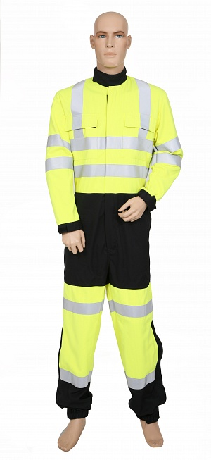 Fire Retardant AS Hi-Vis 2 Tone COVERALL