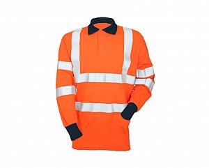 --FRA200HVAT(TH)-- FR, AS, Hi-Vis & Arc Thumb Hole Polo Shirt