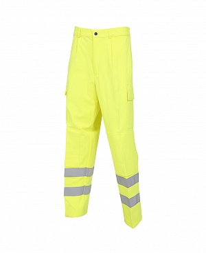 -- FRA214HV(K)ARC -- Flame Resistant, AS, Hi-Vis & Arc Cargo Trouser