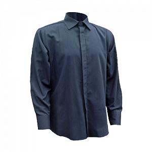 -------FRA232------- Flame Resistant & Antistatic Navy Formal Shirt