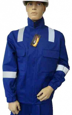 Fire Retardant AS Blue Drivers JACKET