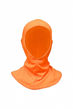 - - - - - - B332O - - - - - - Open Face Balaclava in High -Visibility Fabric