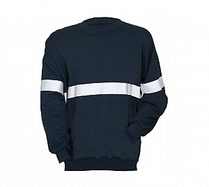 ----FRA205(A)S---- Flame Resistant & Antistatic Stripe Sweatshirt