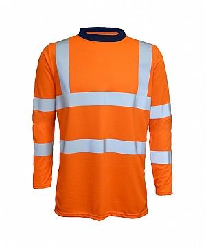 -FRA200HVATS- Flame Resistant, AS, Hi-Vis & Electric Arc T-Shirt